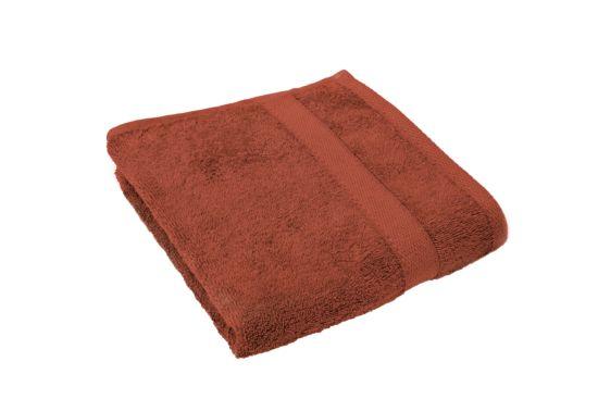 Handdoek 50x100cm terra