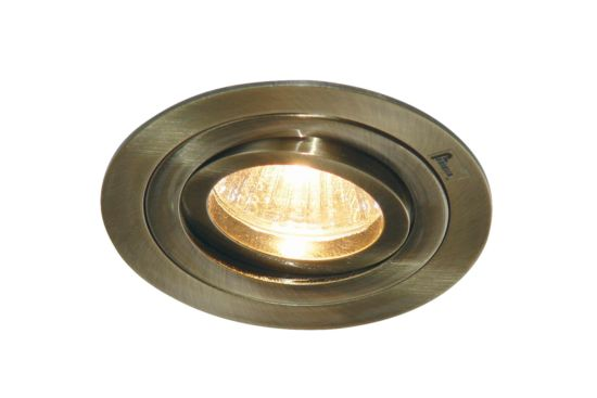 Inbouwspot LED rond brons 5W GU10