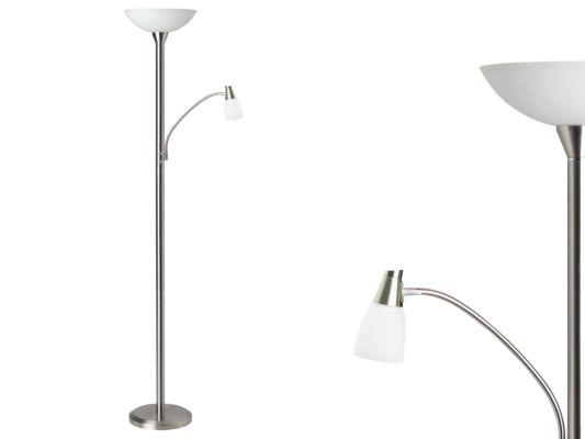 Staande lamp met leeslamp Lucy LED H180cm