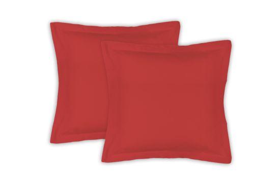 Kussensloop Sac 65x65cm rood, set van 2