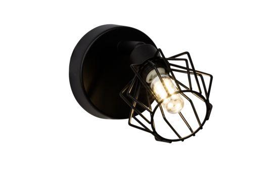 Wandlamp Noris zwart 3,5W G9