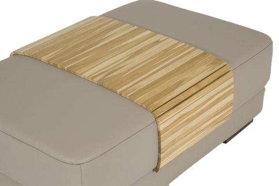 Flexibel dienblad voor armleuning 100x40cm