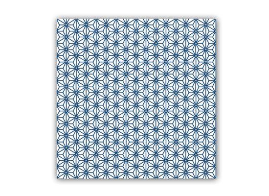 Servet Ginza  33x33cm blauw 20 stuks