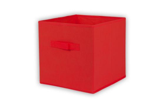 Opbergbox Wow 32x32x32cm rood