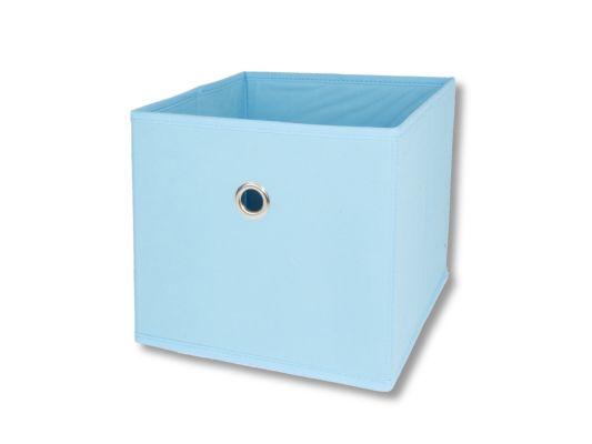 Opbergbox Aha 25x25x22cm lichtblauw
