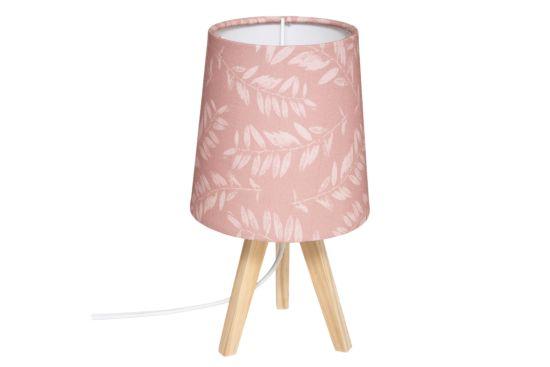 Tafellamp roze E14 H23,5cm