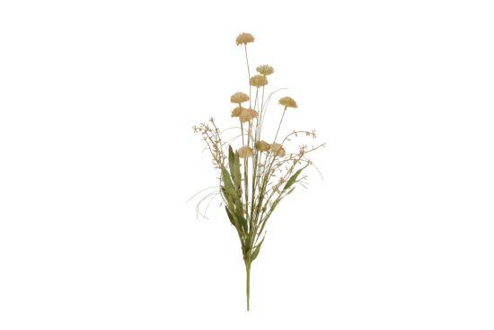 Kunstbloem Dried-Look Pom Pom H53cm