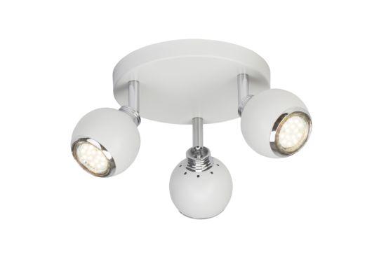 LED spot Ina met 3 spots 3W GU10