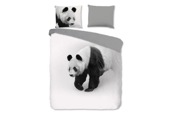 Dekbedovertrek Panda 140x220cm microvezel