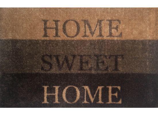 Deurmat Home sweet home 50x75cm