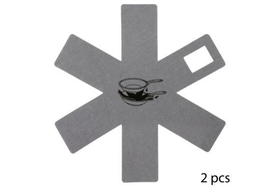 Pannenbeschermer Ø38cm 2 stuks