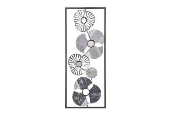 Wanddecoratie Bloemen 25x61cm