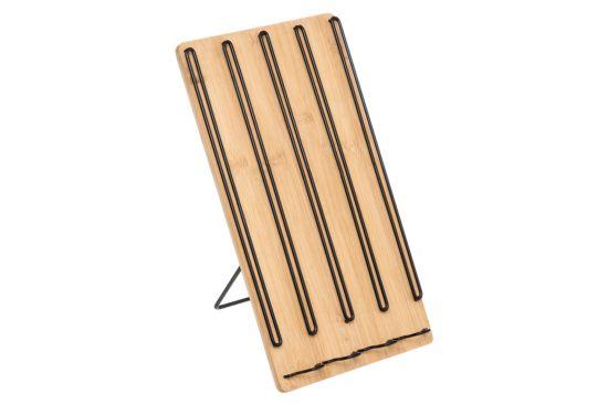 Capsulehouder bamboe metaal
