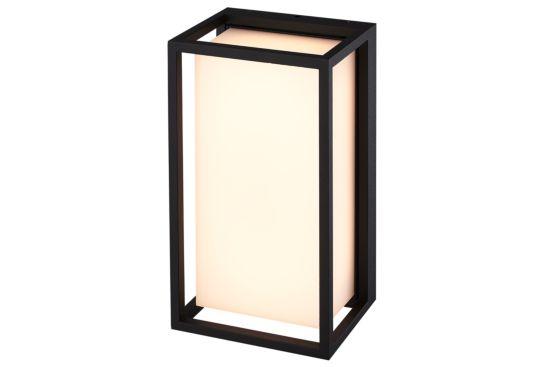 Wandlamp zwart 9W SMD