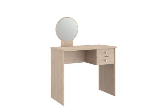 Make-up tafel Estelle met spiegel 91,5x48x115cm