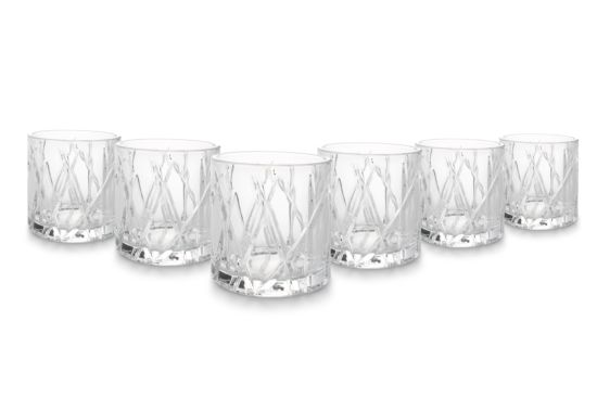 Whiskeyglas Lace Bond 32,5cl set van 6