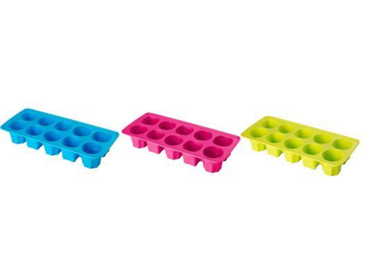 Ijsblokjesvorm 11,4x25,7x4,3cm
