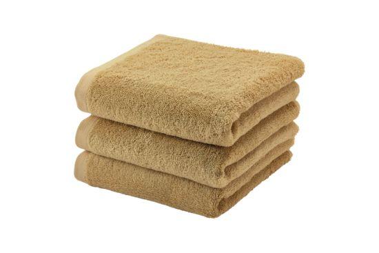 Handdoek London 55x100cm ochre
