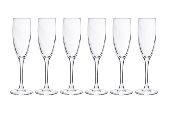 Champagneglas Cosy Moments 19cl, set van 6