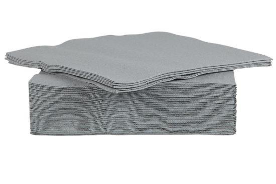 Servet CT Prof 38x38cm grijs, 40 stuks