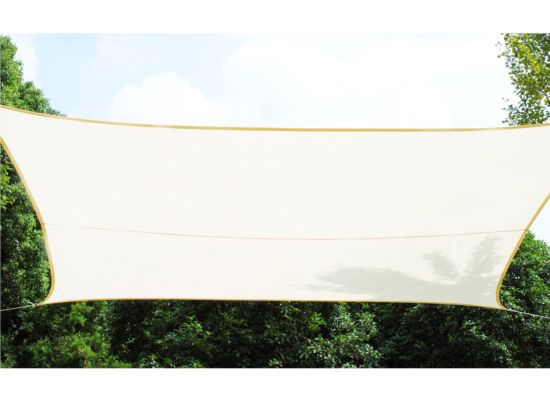 Schaduwdoek 400x300cm crème