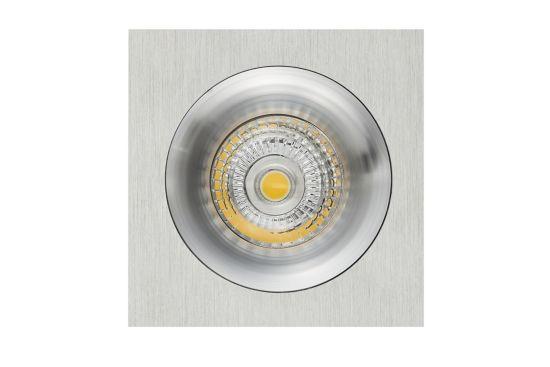 Inbouwspot LED aluminium 5W GU10
