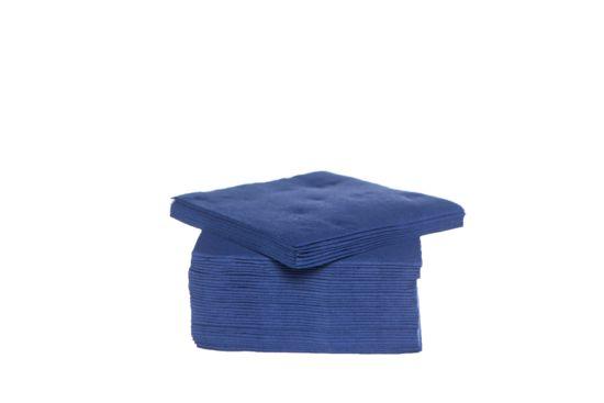 Servet CT Prof 25x25cm blauw, 40 stuks