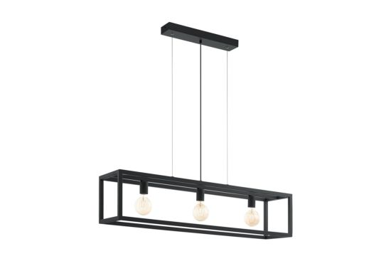Hanglamp Elswick 150x110cm 3x60W E27