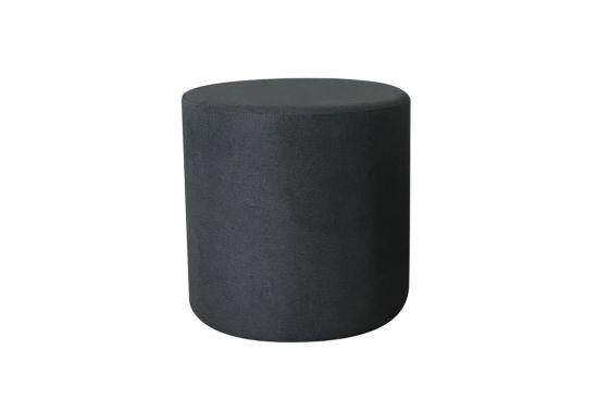 Poef Lofoten  Ø46cm stof grijs