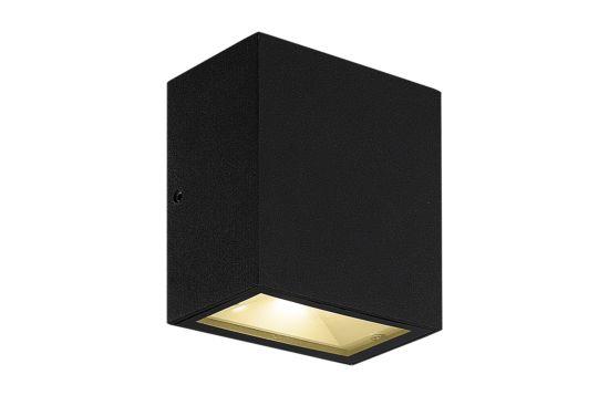 Wandlamp Milos zwart 2x4,5W CREE LED