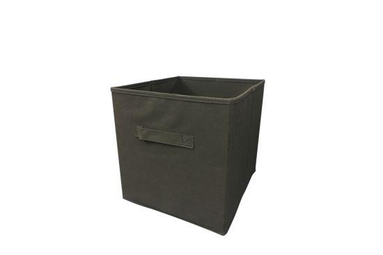 Opbergbox Moby 27,5x27,5x29cm antraciet