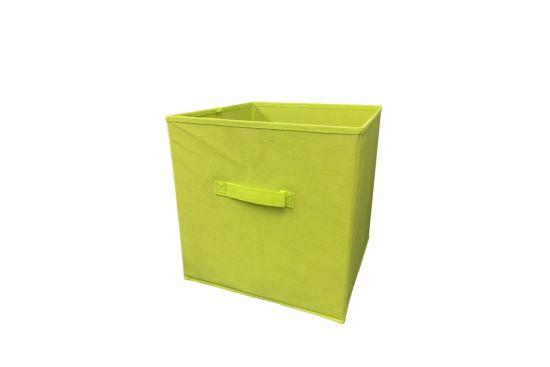 Opbergbox Wow 32x32x32cm lime