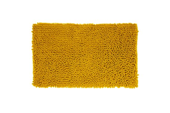 Badmat Maxi Chenille 50x80cm geel