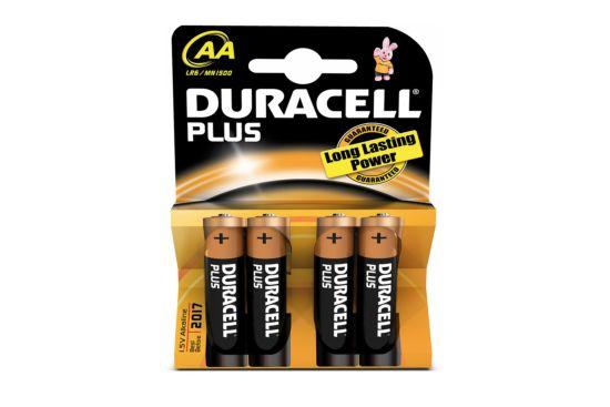 Batterij Duracell AA 1,5V