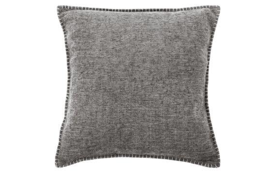 Kussen Damian 45x45cm dark grey