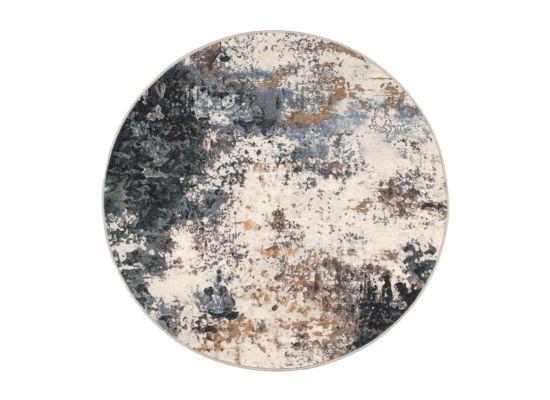 Rond tapijt Aspero 120x120cm hoogpolig