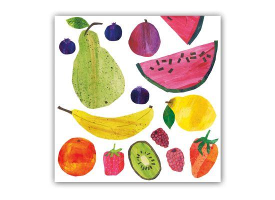 Servet Tutti Frutti 25x25cm multicolor