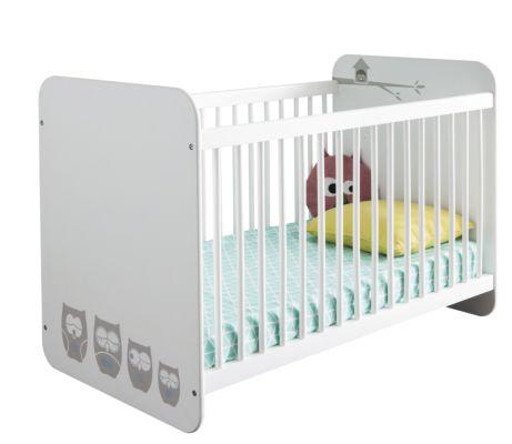 Babybed Hiboux 60x120cm