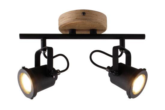 LED spot Inge met 2 spots 2x6W GU10