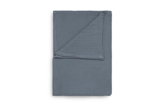 Plaid 180x260cm steel blue