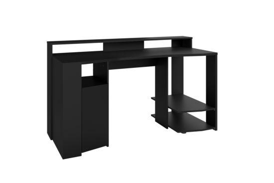 Bureau Gaming  152x62cm zwart