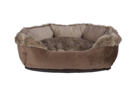 Hondenmand 60x50cm bruin