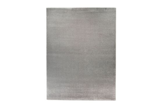 Tapijt Lukas 140x200cm zilver grijs