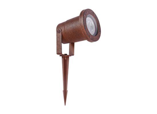 Wandlamp buiten Janko roest 20W GU10