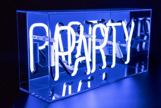 Neon lamp Party  H22cm