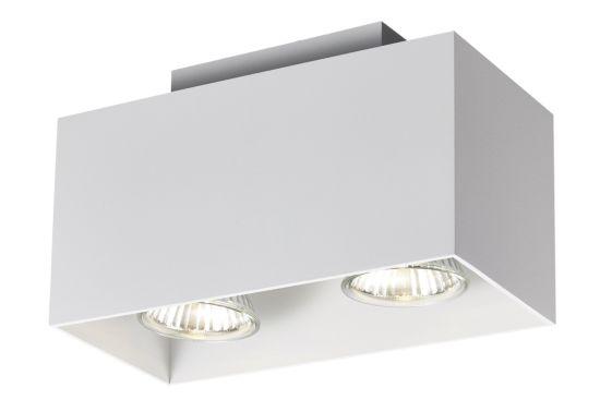 LED spot met 2 spots 5W GU10 wit