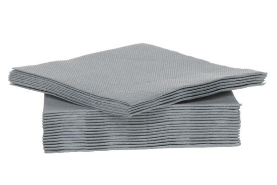 Servet CT Prof 25x25cm grijs, 40 stuks