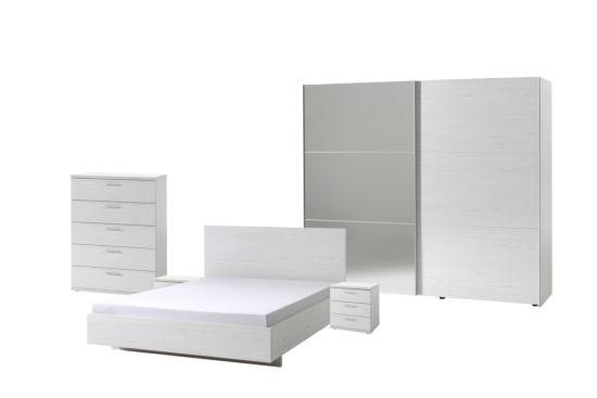 Slaapkamer Helga1 met bed 140x200cm