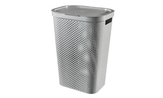 Wasmand Infinity 43,7x35,1x60,2cm donkergrijs