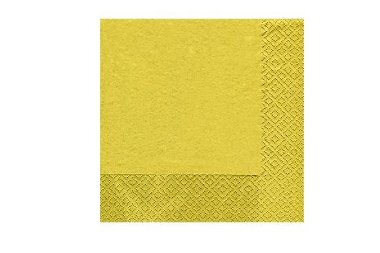 Servet Uni 25x25cm gold